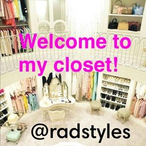 Welcome to my closet! @radstyles